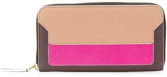Marni Rectangular Zip Around Wallet