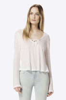 J Brand Constance Long Sleeve Top in White