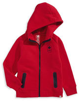 Canadian Olympic Team Collection Toddler Girls Maple Leaf Hoodie