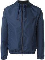 Herno perforated windbreaker jacket