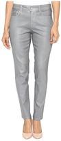 NYDJ Petite Petite Ami Skinny Leggings in Platinum Shimmer Coated
