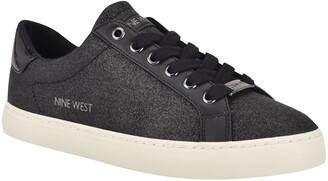 Nine West Best3 Glitter Sneaker