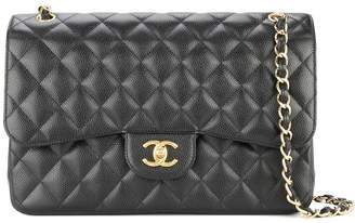 Chanel Pre-Owned 2013-2014 jumbo XL double flap chain shoulder bag
