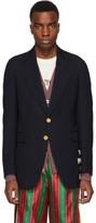 Gucci Blue Wool Cote dAzur Blazer