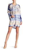 Fraiche By J Lace-Up Shift Dress