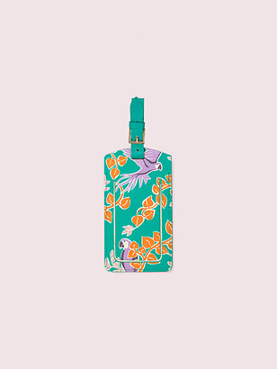 Kate Spade Bird Party Luggage Tag