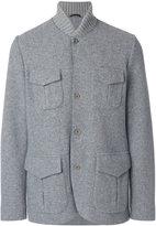 Loro Piana field jacket - men - Goat Skin/Polyester/Cashmere/Virgin Wool - M