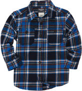 Osh Kosh Button-Front Plaid Flannel Shirt