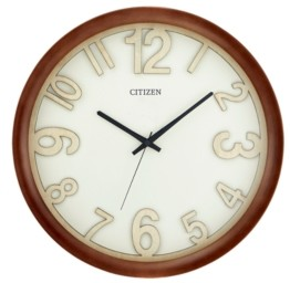 Citizen Wooden Framed Wall Clock