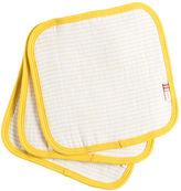 Giggle Organic Cotton Stripe Wash Cloth 3-Pack