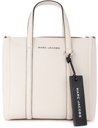 Marc Jacobs Shoulder Bag Model The Tag Tote In Ivory Leather
