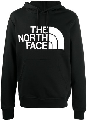The North Face Logo Print Drawstring Hoodie