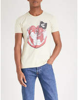 Anglomania Heart cotton-jersey T-shirt