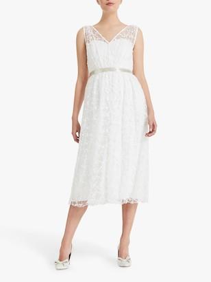 Phase Eight Bridal Phase Eight Amalia Embroidered Wedding Dress, Ivory