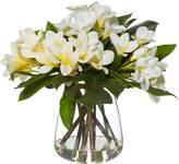 Rogue Artificial Frangipani Mix with Tub Vase