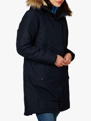 Helly Hansen Mayen Women's Waterproof Parka Jacket, Navy