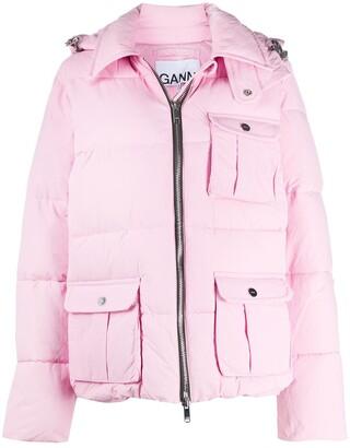 Ganni Heavy Tech Puffer Jacket