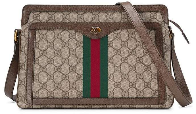 Gucci GG Supreme medium shoulder bag