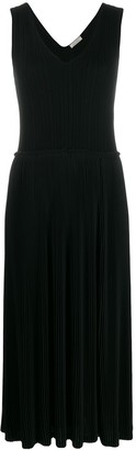 Nina Ricci Pleated Midi Dress