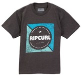 Rip Curl Squared Up Heather Tee (Big Boys)