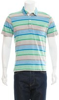Billy Reid Striped Polo Shirt
