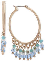 lonna & lilly Gold-Tone Shaky Bead Hoop Earrings