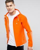 Asos Shower Resistant Parka Jacket With Logo In Orange