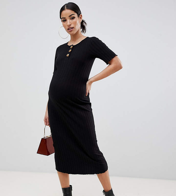 58d74065129 Maternity Bodycon Dress - ShopStyle