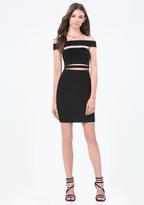Bebe Petite Cutout Dress