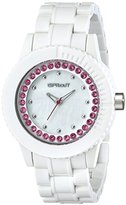 Sprout Women's ST/6504MPPK Swarovski Crystal-Accented Watch