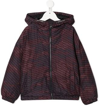 Emporio Armani Kids Lightweight Hooded Jacket
