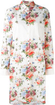 Wunderkind knee length floral shirt - women - Cotton - 36
