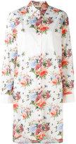 Wunderkind knee length floral shirt