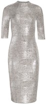 Alice + Olivia Delora Fitted Metallic Dress