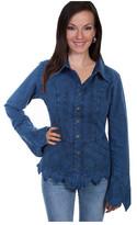 Scully Women's Long Sleeve Blouse PSL-119