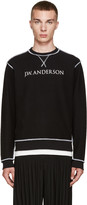 J.W.Anderson Black Inside-Out Pullover