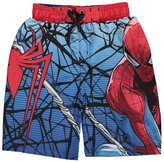 "Spiderman Little Boys' ""Web Release"" Boardshorts"