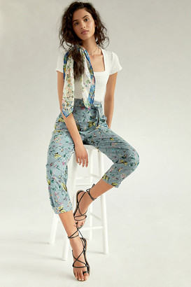 Anthropologie Victoria Floral Cargo Pants By in Assorted Size 00