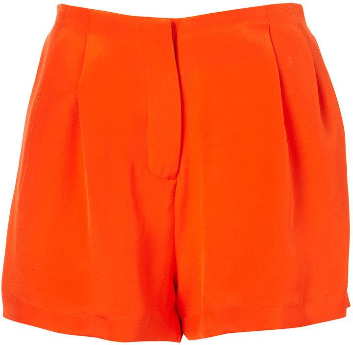 Boutique Tuck Front Shorts