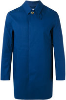 MACKINTOSH button up raincoat