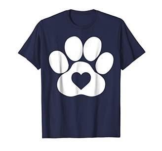 CAT Puppy Paw or Kitten Paw T-Shirt | Pet Loving Heart Tee