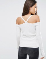 Asos Sweater with Strappy Cold Shoulder