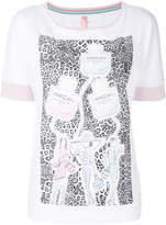 Marc Cain patterned sketch T-shirt