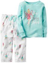 Carter's Girls 4-14 Graphic Pajama Set