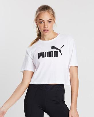 Puma Essential Cropped Logo T-Shirt