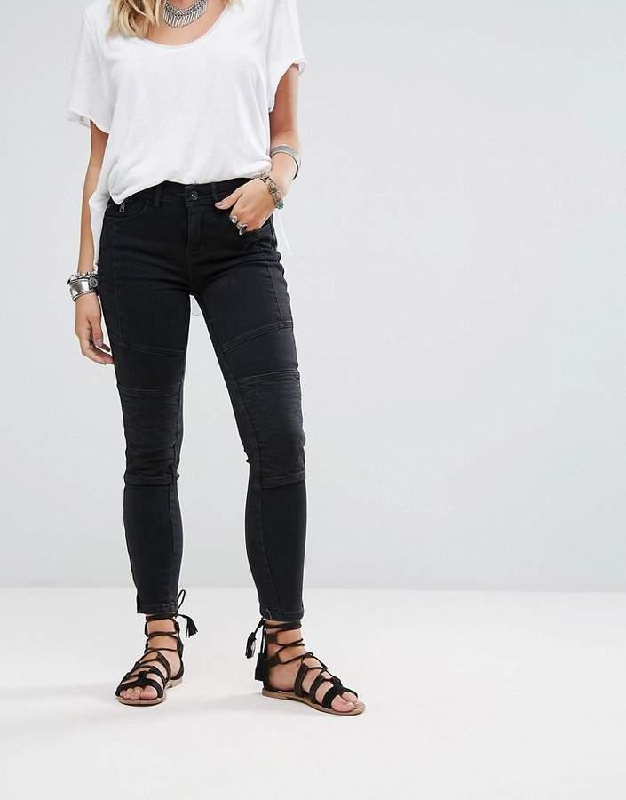 Free People Moto Magic Skinny Jeans