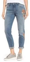 Mavi Jeans Women's Ada Embroidered Boyfriend Jeans