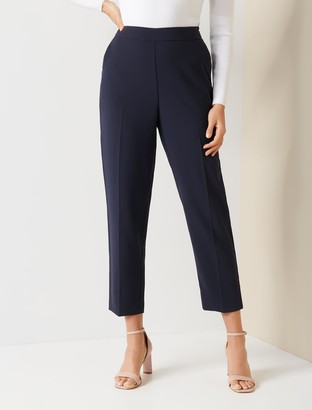 Forever New Carrie Cigarette Pants - Admiral Blue - 10