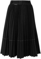Moncler pleated skirt - women - Polyester/Spandex/Elastane/Viscose - 42