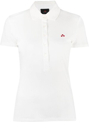 Peuterey Logo-Patch Short-Sleeved Polo Shirt